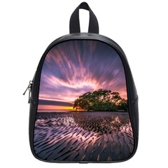 Landscape Reflection Waves Ripples School Bags (Small)