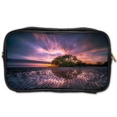 Landscape Reflection Waves Ripples Toiletries Bags 2 Side