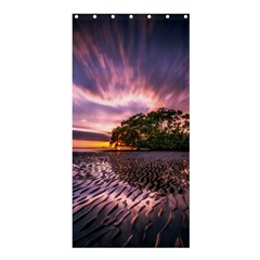 Landscape Reflection Waves Ripples Shower Curtain 36  X 72  (stall)