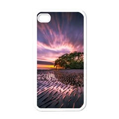 Landscape Reflection Waves Ripples Apple Iphone 4 Case (white)