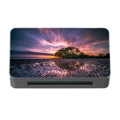 Landscape Reflection Waves Ripples Memory Card Reader With Cf