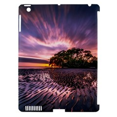 Landscape Reflection Waves Ripples Apple Ipad 3/4 Hardshell Case (compatible With Smart Cover)