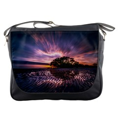 Landscape Reflection Waves Ripples Messenger Bags