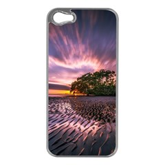 Landscape Reflection Waves Ripples Apple Iphone 5 Case (silver)