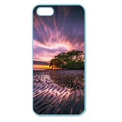 Landscape Reflection Waves Ripples Apple Seamless Iphone 5 Case (color)
