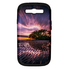Landscape Reflection Waves Ripples Samsung Galaxy S Iii Hardshell Case (pc+silicone)