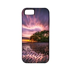 Landscape Reflection Waves Ripples Apple Iphone 5 Classic Hardshell Case (pc+silicone)