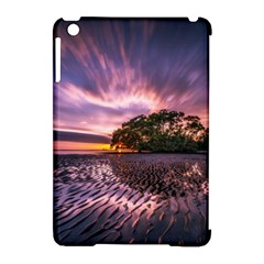 Landscape Reflection Waves Ripples Apple Ipad Mini Hardshell Case (compatible With Smart Cover)