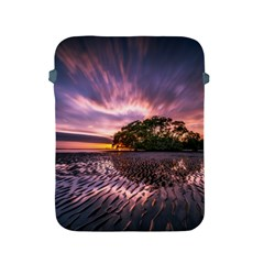 Landscape Reflection Waves Ripples Apple Ipad 2/3/4 Protective Soft Cases