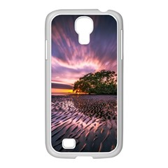 Landscape Reflection Waves Ripples Samsung Galaxy S4 I9500/ I9505 Case (white)