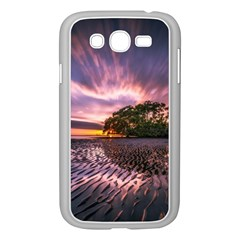 Landscape Reflection Waves Ripples Samsung Galaxy Grand Duos I9082 Case (white)