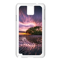 Landscape Reflection Waves Ripples Samsung Galaxy Note 3 N9005 Case (white)