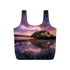 Landscape Reflection Waves Ripples Full Print Recycle Bags (s)
