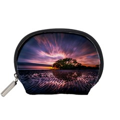 Landscape Reflection Waves Ripples Accessory Pouches (small)
