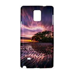 Landscape Reflection Waves Ripples Samsung Galaxy Note 4 Hardshell Case