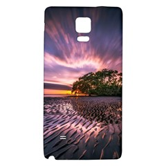 Landscape Reflection Waves Ripples Galaxy Note 4 Back Case