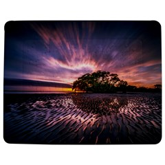 Landscape Reflection Waves Ripples Jigsaw Puzzle Photo Stand (Rectangular)