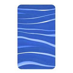 Lines Swinging Texture  Blue Background Memory Card Reader