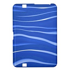 Lines Swinging Texture  Blue Background Kindle Fire HD 8.9