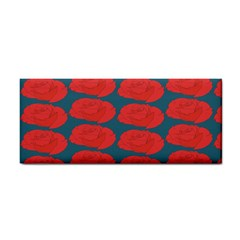Rose Repeat Red Blue Beauty Sweet Cosmetic Storage Cases