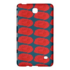 Rose Repeat Red Blue Beauty Sweet Samsung Galaxy Tab 4 (7 ) Hardshell Case