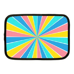 Rhythm Heaven Megamix Circle Star Rainbow Color Netbook Case (Medium)