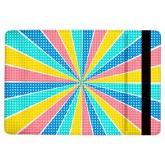 Rhythm Heaven Megamix Circle Star Rainbow Color iPad Air Flip