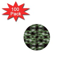 Stripes Camo Pattern Print 1  Mini Buttons (100 pack)