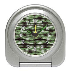 Stripes Camo Pattern Print Travel Alarm Clocks