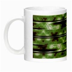 Stripes Camo Pattern Print Night Luminous Mugs