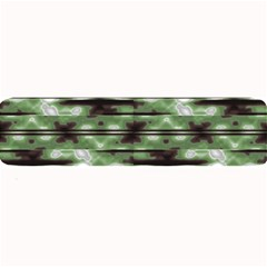 Stripes Camo Pattern Print Large Bar Mats