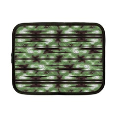 Stripes Camo Pattern Print Netbook Case (Small)