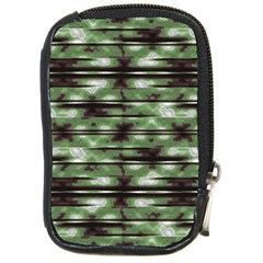 Stripes Camo Pattern Print Compact Camera Cases