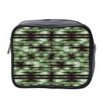 Stripes Camo Pattern Print Mini Toiletries Bag 2-Side Front