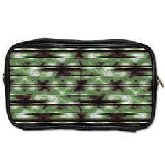 Stripes Camo Pattern Print Toiletries Bags 2-Side