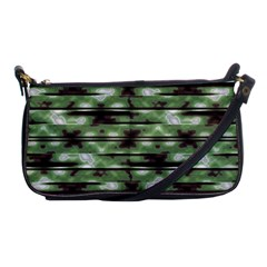 Stripes Camo Pattern Print Shoulder Clutch Bags