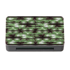 Stripes Camo Pattern Print Memory Card Reader with CF