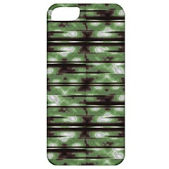 Stripes Camo Pattern Print Apple iPhone 5 Classic Hardshell Case
