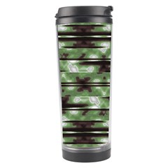 Stripes Camo Pattern Print Travel Tumbler