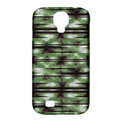 Stripes Camo Pattern Print Samsung Galaxy S4 Classic Hardshell Case (PC+Silicone)
