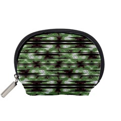 Stripes Camo Pattern Print Accessory Pouches (Small)