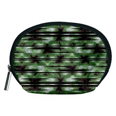 Stripes Camo Pattern Print Accessory Pouches (Medium)
