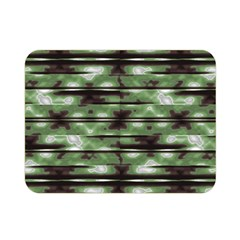 Stripes Camo Pattern Print Double Sided Flano Blanket (Mini)