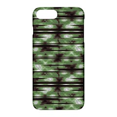 Stripes Camo Pattern Print Apple iPhone 7 Plus Hardshell Case