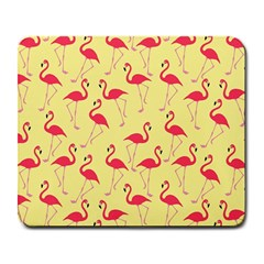 Flamingo pattern Large Mousepads
