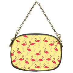Flamingo pattern Chain Purses (Two Sides)