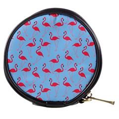 Flamingo pattern Mini Makeup Bags