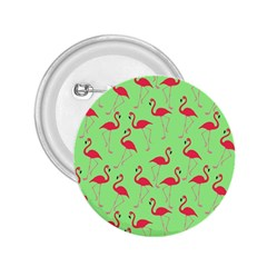 Flamingo pattern 2.25  Buttons