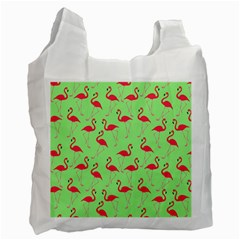 Flamingo pattern Recycle Bag (One Side)