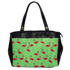 Flamingo pattern Office Handbags
